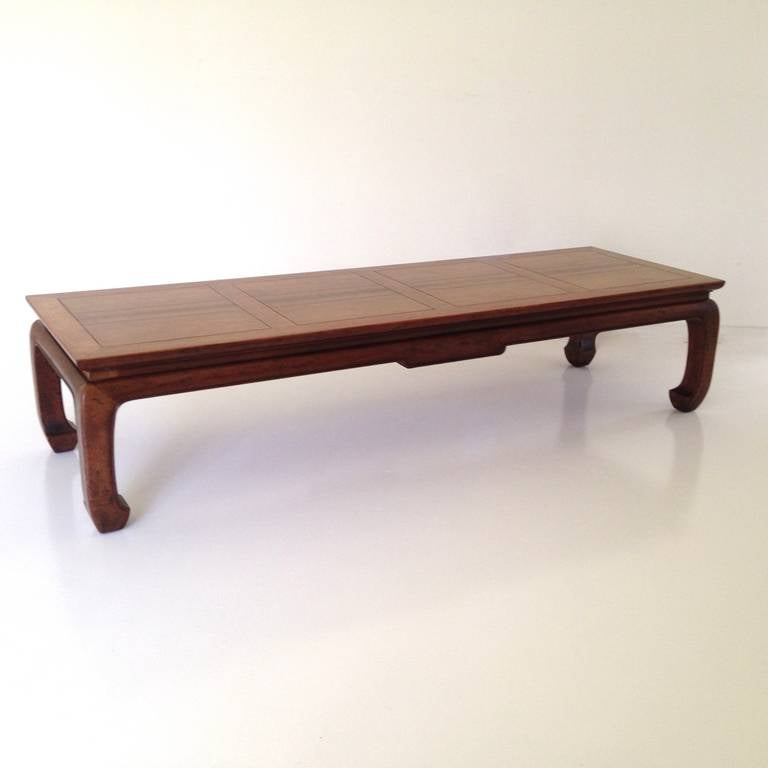 asian inspired coffee table by michael taylor for baker 3 asian inspired coffee table