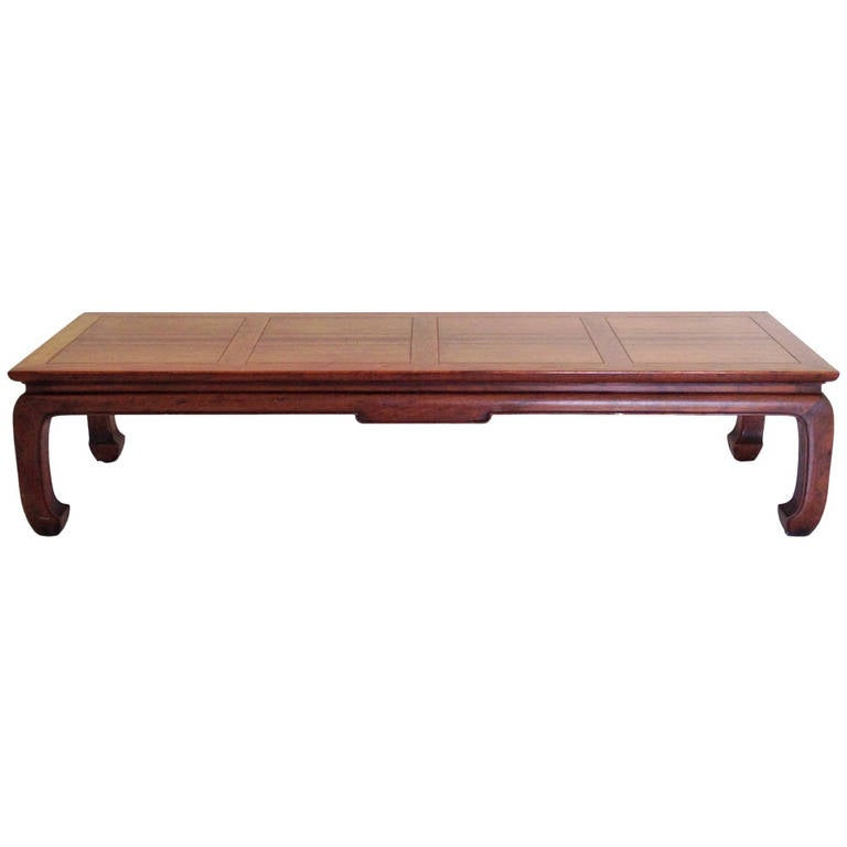 asian inspired coffee table by michael taylor for baker at 1stdibs