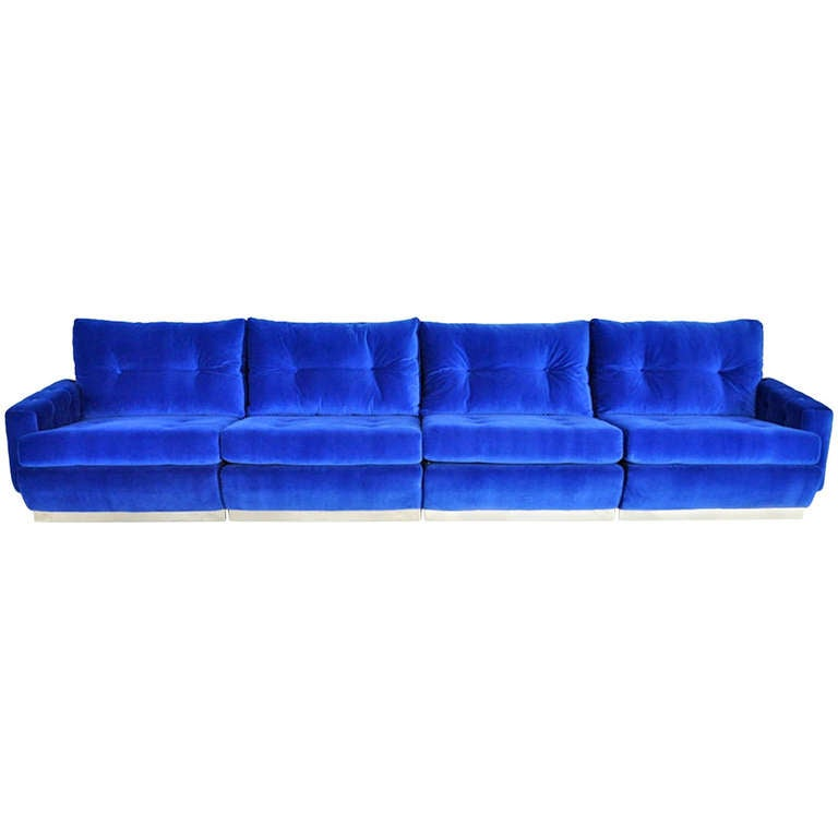 roche bobois sofa at 1stdibs. Black Bedroom Furniture Sets. Home Design Ideas