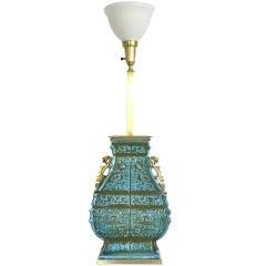 Glamorous Ceramic Table Lamp