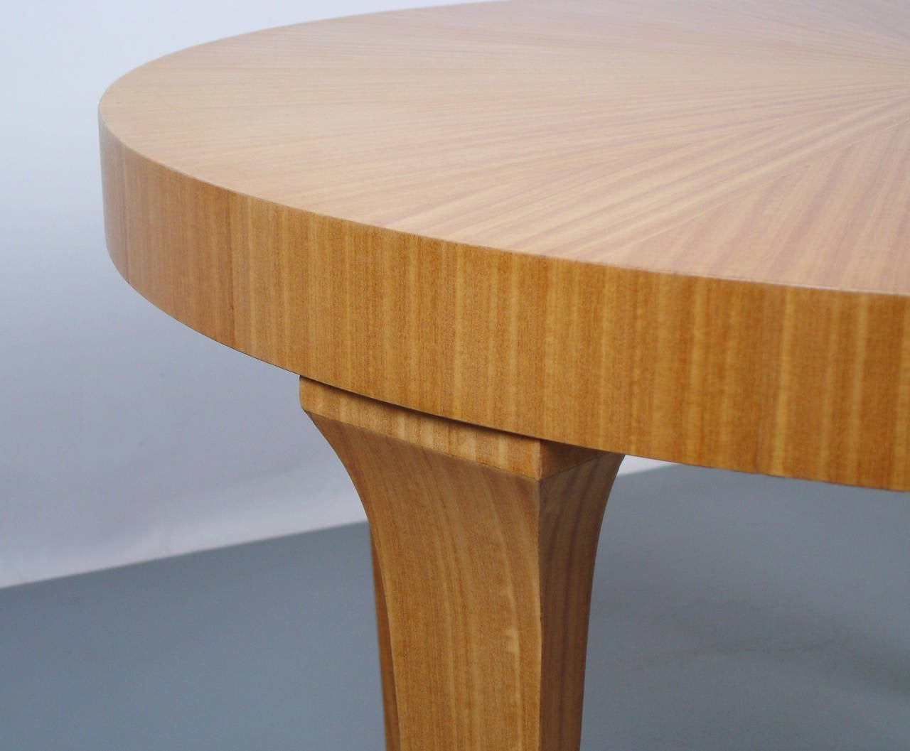 A Circular 1950's Coffee Table For Sale At 1stdibs