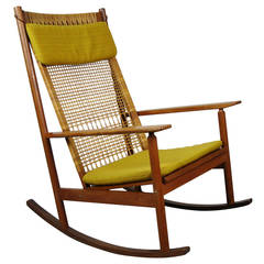 Rocking Chair Designed by Hans Olsen