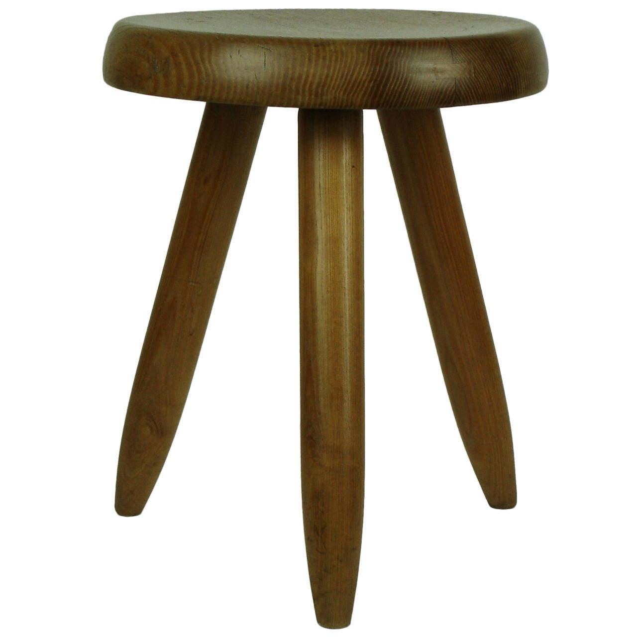 Charlotte Perriand stool, ca. 1950