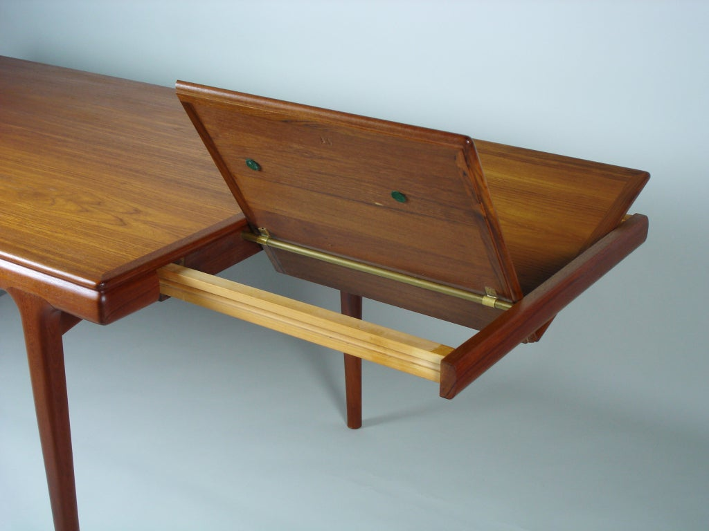 Scandinavian Dining Table By Johannes Andersen At 1stdibs