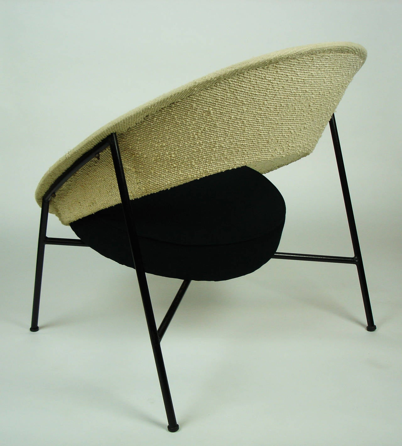 saturne armchair by genevi ve dangles and christian defrance at 1stdibs. Black Bedroom Furniture Sets. Home Design Ideas