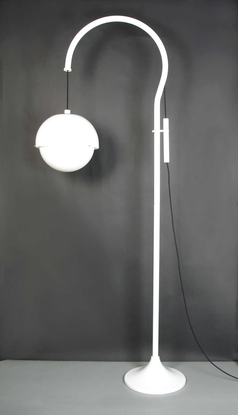 A Quot 4055 Quot Floor Lamp By Luigi Bandini Buti At 1stdibs