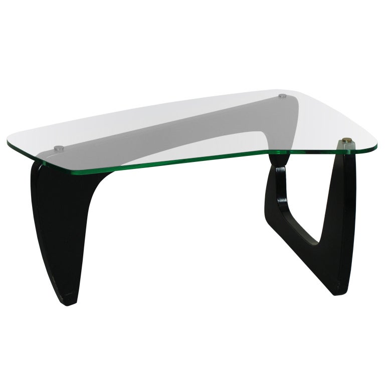 Coffee Table In Style Of Isamu Noguchi At 1stdibs
