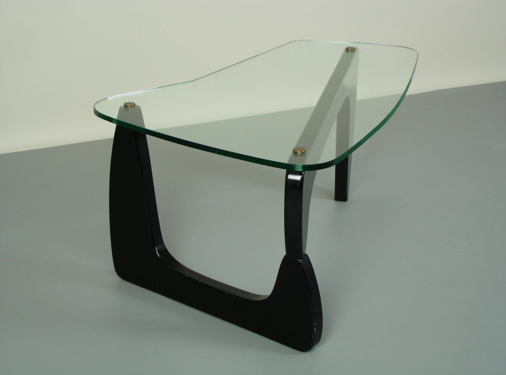 Coffee Table In Style Of Isamu Noguchi For Sale At 1stdibs