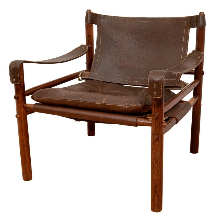 Arne Norell Safari Chair At 1stdibs