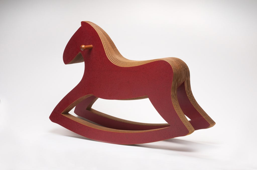 Quot Rocking Horse Quot Layered Cardboard Rocking Horse Edition 7
