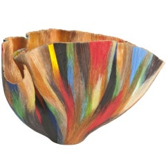 """""""Multiple, Multiple Chaos"""" Glass Vessel by Toots Zynsky"""