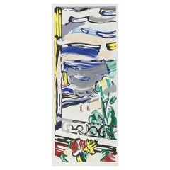 """""""View from the Window"""" Lithograph by Roy Lichtenstein"""