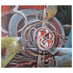 Isaac Holkar Abstract Painting