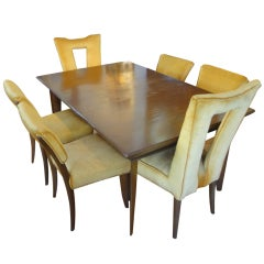 Elegant Dining Set Designed by Paul Laszlo