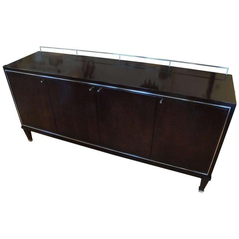 credenza by barbara barry for baker furniture at 1stdibs. Black Bedroom Furniture Sets. Home Design Ideas