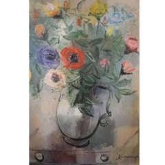 Floral Still Life by California Artist John Cunningham
