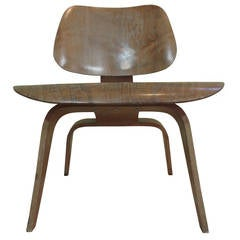 Eames LCW Molded Plywood Lounge Chair, Evans