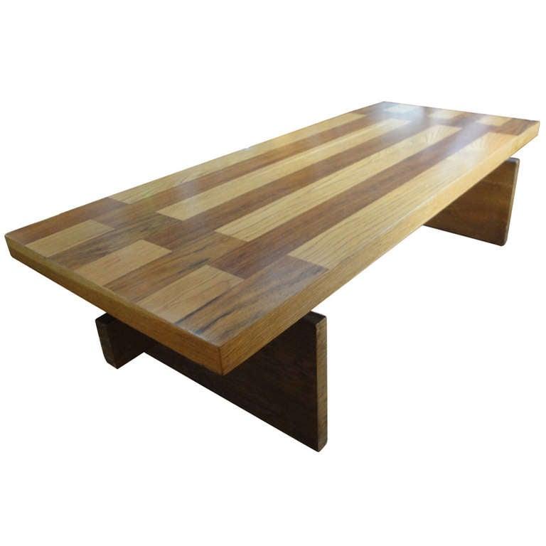 Lane Furniture Wood Coffee Table: Lane Coffee Table At 1stdibs