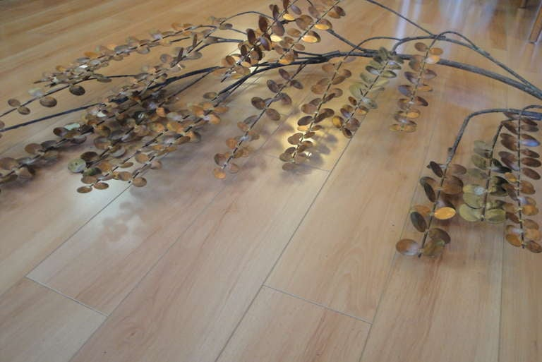 Signed Curtis Jere Tree Branch Wall Sculpture 8