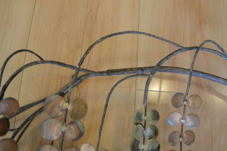 Signed Curtis Jere Tree Branch Wall Sculpture 5