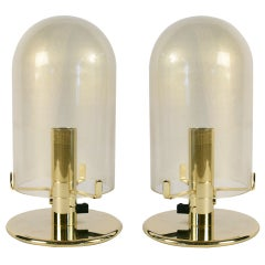 1980s Murano Glass Table Lamps by Veronese