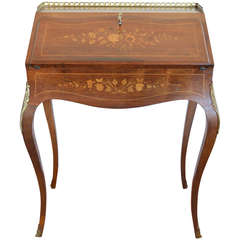 Louis xv xvi transitional drop front desk for sale at 1stdibs - Mobilier style louis xv ...