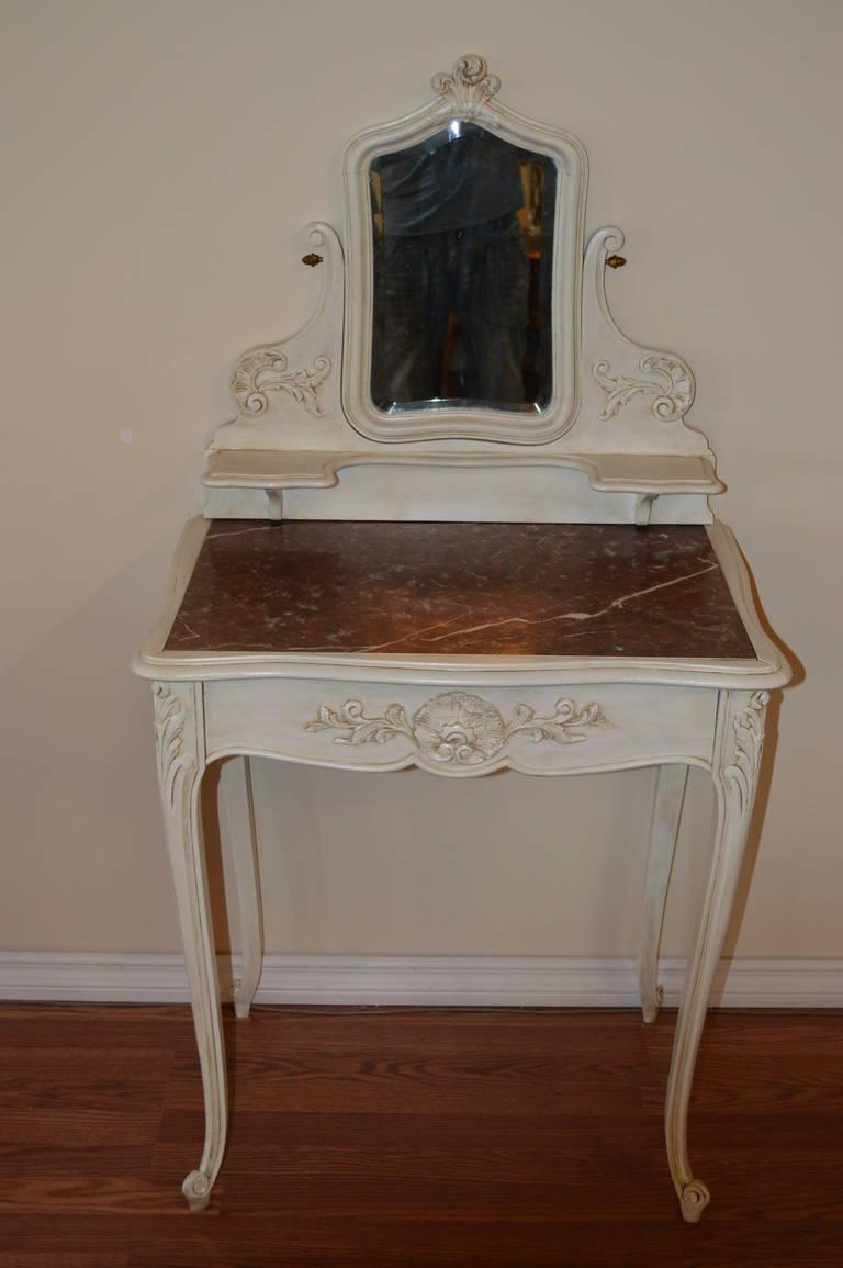 Louis Xv Style Painted Vanity At 1stdibs
