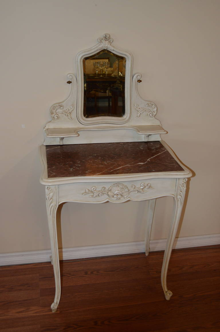 Louis Xv Style Painted Vanity For Sale At 1stdibs