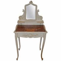 Louis XV Style Painted Vanity