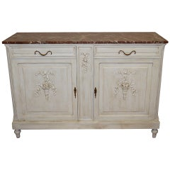 Louis XVI Style Painted Buffet