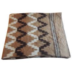 Large Alpaca Blanket/Throw
