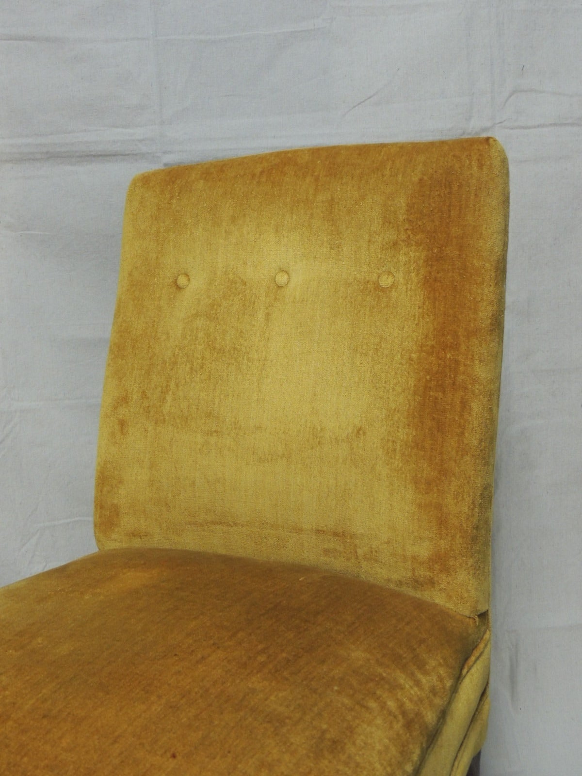 English Slipper Chair For Sale