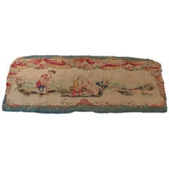 Aubusson Settee Tapestry Cover.