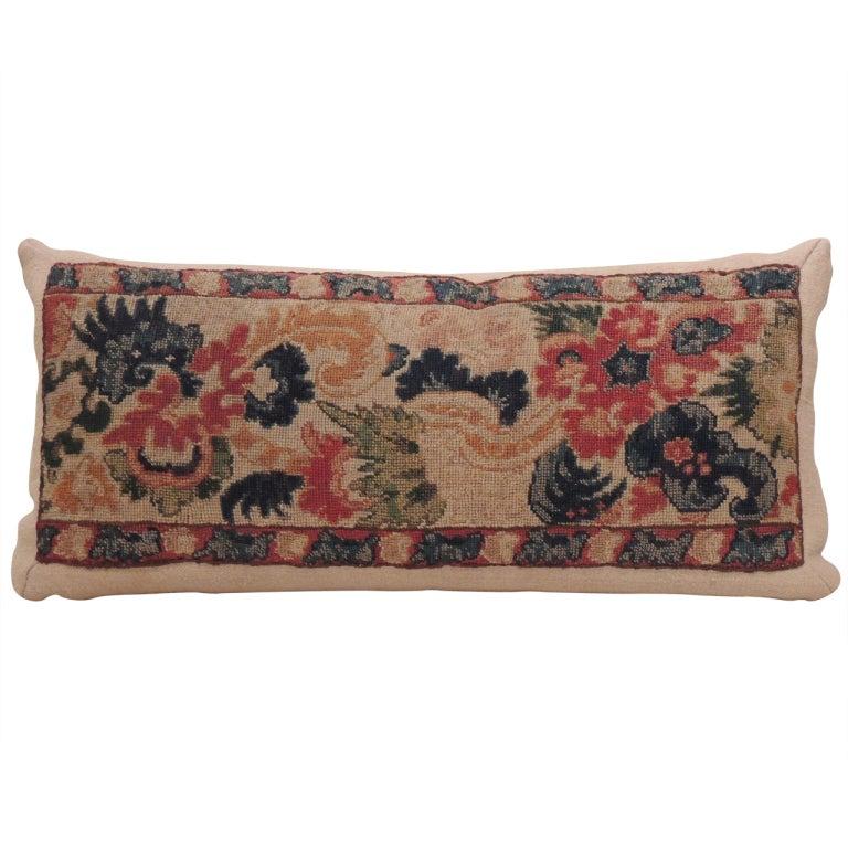 Victorian Bolster Pillows : Antique Tapestry Bolster Pillow. at 1stdibs