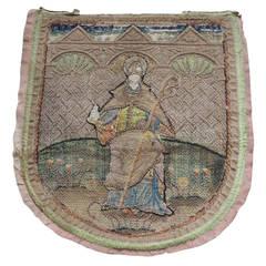 Religious Embroidery Textile.