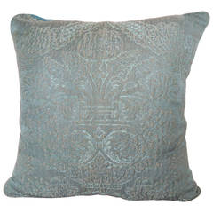 Antique Textile Brocade Pillow