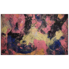 Large Modern Art Painting by Patou #1