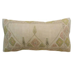 Turkish Embroidery Lumbar Pillow