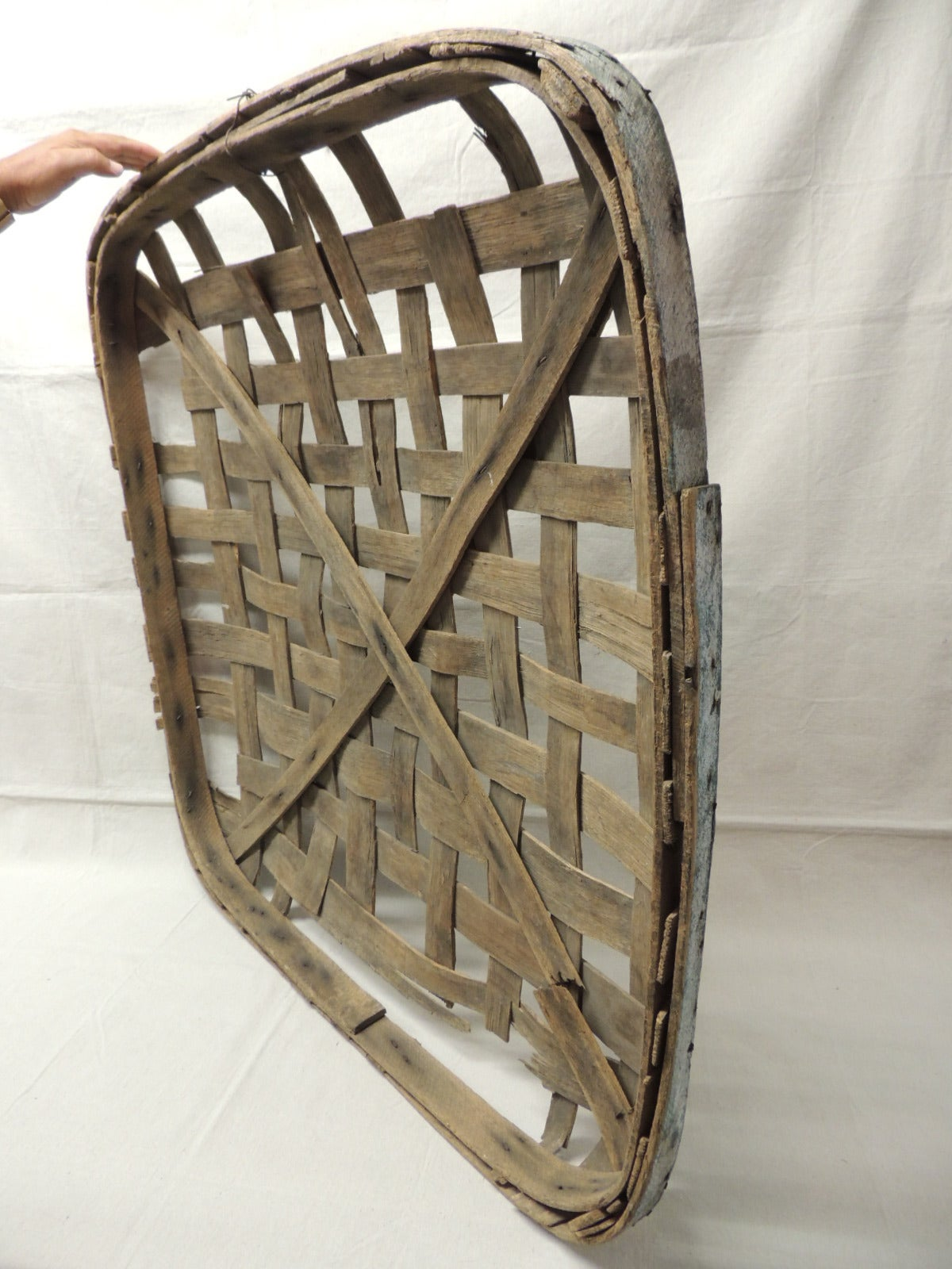 Large Tobacco Drying Flat Basket For Sale At 1stdibs