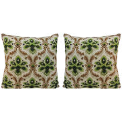 Barkcloth Pillows