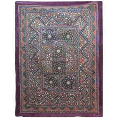 "Large ""Chakla"" Wall Hanging Tapestry Textile"