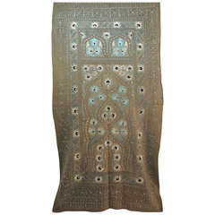 Embroidery Artisanal Antique Suzani Wall Hanging Tapestry