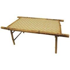 Bamboo Folding Breakfast Tray