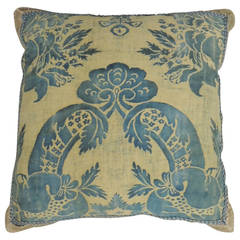 Fortuny Pillow in Cobalt Blue