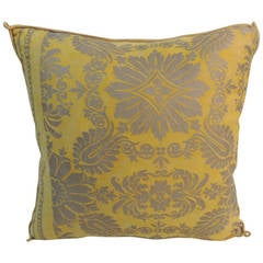 Vintage Fortuny Pillow. #1