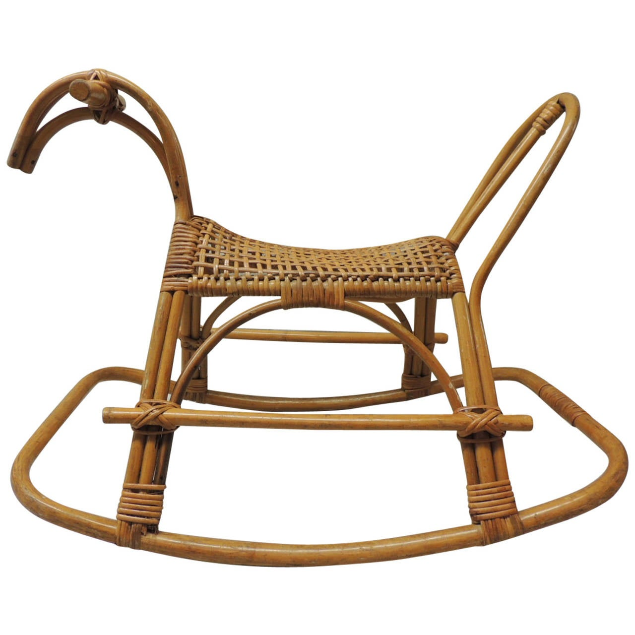 This Franco Albini Bamboo Rocking Horse is no longer available.