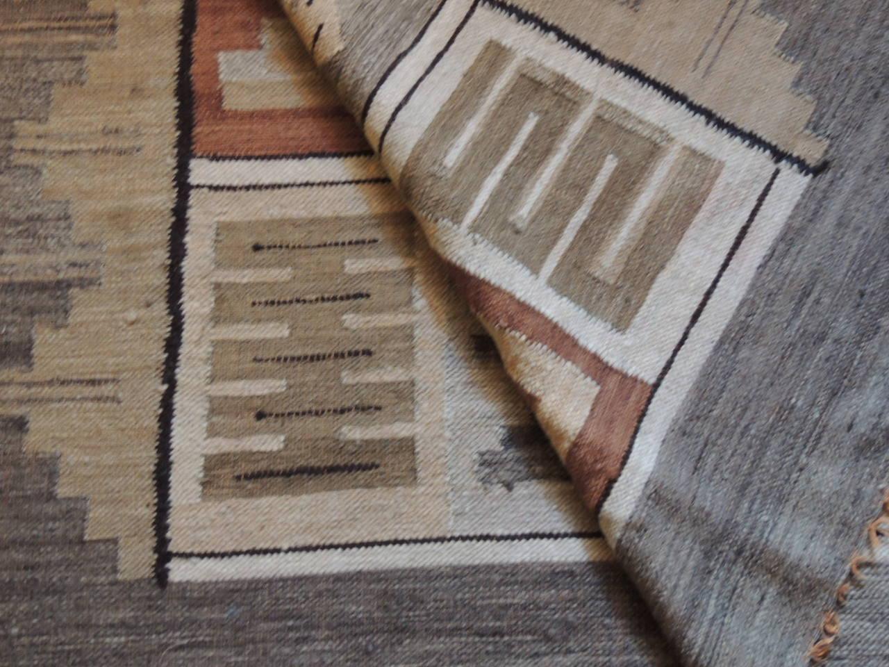 Peruvian Tribal Design Alpaca Rug At 1stdibs