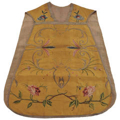 HOLIDAY SALE: Collectors of Antique Textiles' Chasuble Religious Vestment