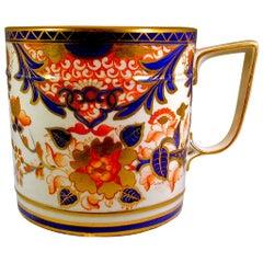 """Derby Porcelain """"King"""" Pattern Porter Mug"""