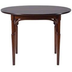 Oval Mahogany Thonet Table